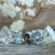 Origin of Salt and Pepper Diamonds